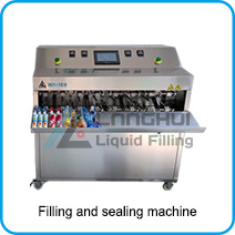 drinking water filling and sealing machine