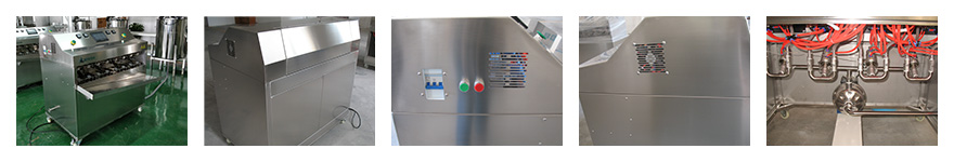360° BD1410A sachet filling and sealing machine