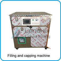spout pouch jelly filling and capping machine