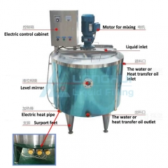 Electric heating mixing tank