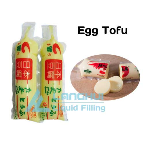 Egg tofu filling machine